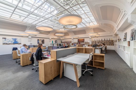 Bureaux et réception Maison Descaves Bordeaux