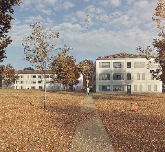 Bâtiments d'hébergement pour militaires