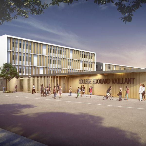 Collège Edouard Vaillant Bordeaux