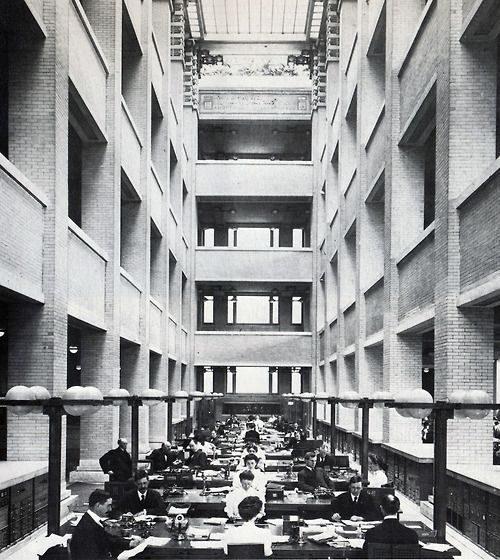 Larkin building open space