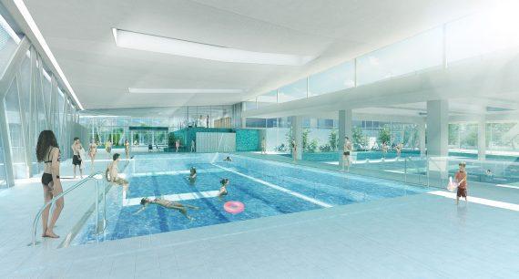 Centre aquatique Aquavert Francheville